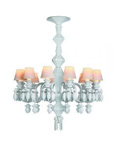 Lladro Lighting 1023189 Belle De Nuit 12 Light Chandelier