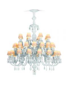 Lladro Lighting 1023192 Belle De Nuit 40 Light Chandelier