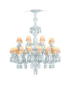 Lladro Lighting 1023195 Belle De Nuit 24 Light Chandelier