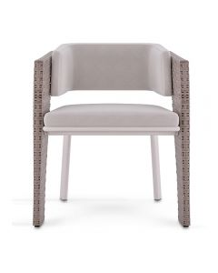 Luxxu LUX4087 Galea Wood Outdoor Dining Chair