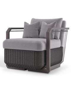 Luxxu LUX4088 Hampton Grey Armchair
