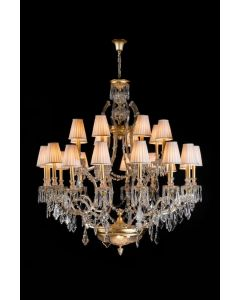 Mariner 20191 Royal Heritage 24 Light Maria Theresa Chandelier
