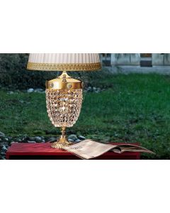 Masiero ELEGANTIATL2G Elegantia 2 Light LED Table Lamp