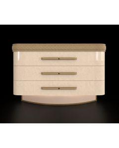Mobilpiu Luxury MPL4102 Diamond 3 Drawer Dresser