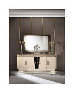 Mobilpiu Luxury MPL4177 Diamond Mirror Of Sideboard
