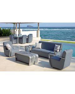 Skyline Design SKY00 Axis Outdoor Sofa & Dining Set
