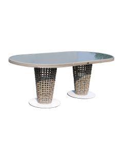 Skyline Design SKY051 Dynasty Oval Dining Table Set
