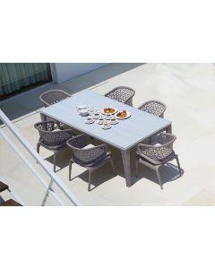 Skyline Design SKY082 Ocean Rectangular Dining Table Set