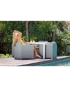 Skyline Design SKY124 North Rectangular Dining Table Set