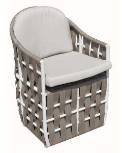 Skyline Design SKY151 Strips Dining Armchair Set