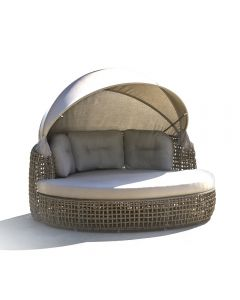 Skyline Design SKY178 Dynasty Daybed Wih Canopy Set