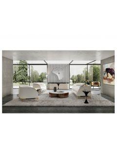 Tonino Lamborghini Casa TL2314-1 Venice Sofa Armchair Upholstered In Leather