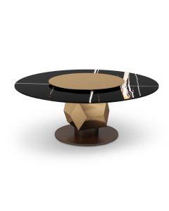 Tonino Lamborghini Casa TL2920 Rome Round Dining Table