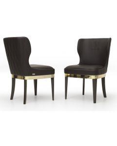 Tonino Lamborghini Casa TL364-2 Long Beach Lux Dining Chair