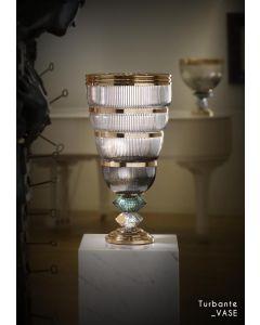 Baldi Home Jewels 696907PA169LGGV Boccadoro Turbante Vase